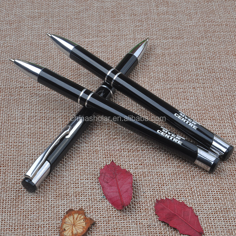 Promotional custom logo printed cheap anodizing aluminium pen