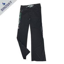 Best selling cheap China casual black sport pants