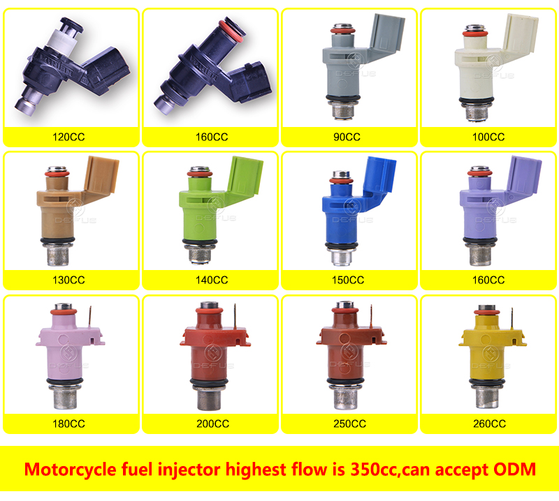 motorcycle fuel injector 6 8 10 Holes 130cc 140cc 160cc Nozzle For RS150 16450-KZL-931