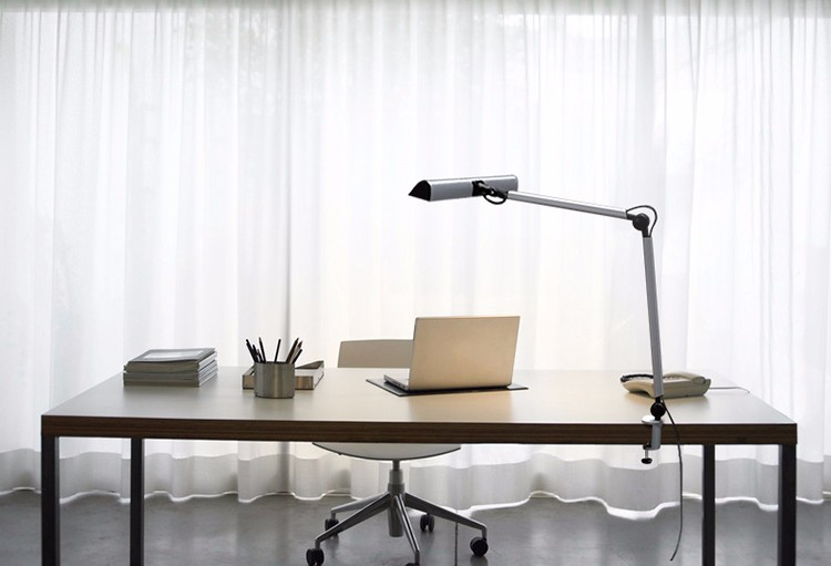 UYLED A509 Table Lamp Dimmable Touch Sensor LED Office Desk Lamp