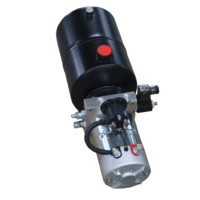 single acting mini power pack poclain hydraulic motor with brake power units