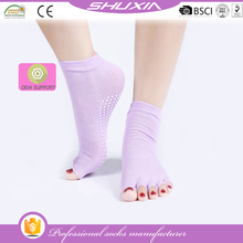 SX-1882 yoga socks half toe ankle grip