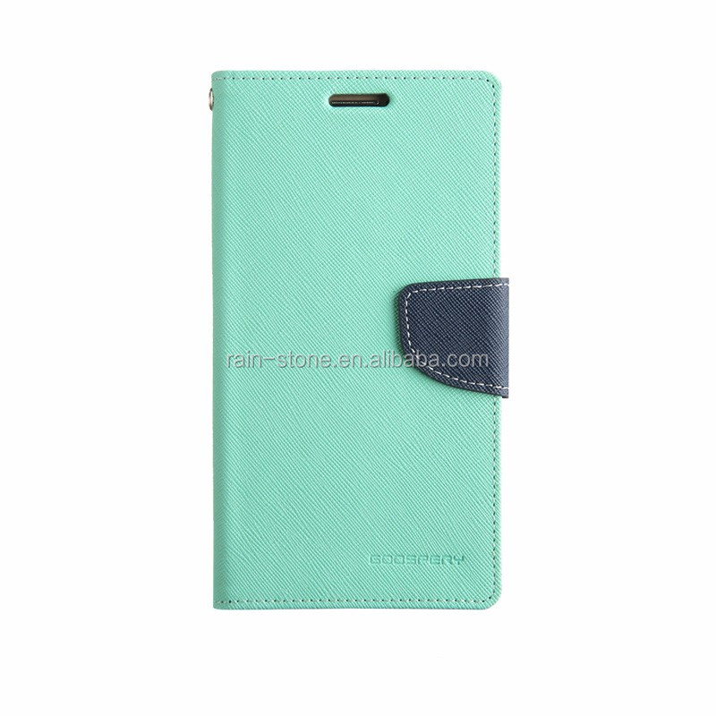 Hot selling pu leather case for OPPO A37,wallet card slot phone accessories for OPPO A37