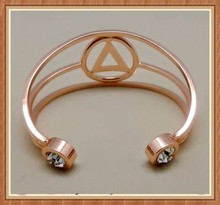 Wholesale copper bracelets and arthritis pain Hammered Solid Copper Adjustable Cuff Bracelet for women