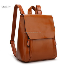 100% Genuine Leather Women Backpack girl Korean Style Ladies Strap Laptop Bag Daily Backpack