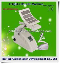 2013 Cheapest Price Beauty Equipment E-light+IPL+RF machine celulite reduce