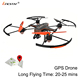 Professional design gps drone long range flying, gps flying camera drone HD 1080P