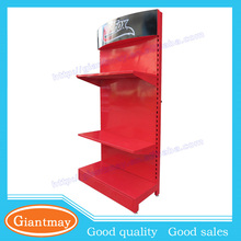 High capacity heavy duty floor standing produce merchandising point-of-sale displays for retail