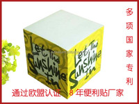 custom decorative printing paper cube with fast delivery,sticky note