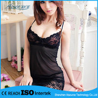 Women Hot Sex Dress for Night Club Sexy Lace Lingerie Midnight Wear