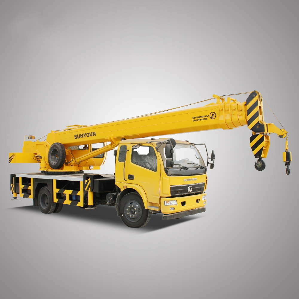 Sunyoun Hydraulic Mini Dump <strong>Truck</strong> With Crane 10 Ton