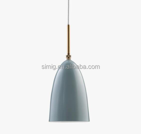 E27 holder metal GRASSHOPPER PENDANT LAMP by designer Greta Grossman
