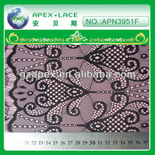 2013 fashion eyelash lace fabric For weeding dress Nylon Embroidery lace-APN3951f