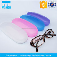 YT8008 top flossy window plastic hard glasses case