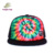 fashion design colorful custom flat brim mesh cap snapback cap