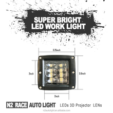 Super designed 2017 Wholesale Truck Parts 4Inch 33W LED Work Light, 33w Car Lamp, 33W Auto LED Tuning Light
