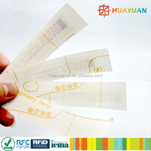 RFID UHF Alien H3 indestructible temper label tag