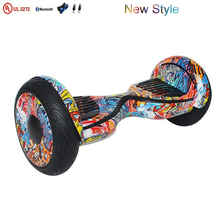 UL2272 Electrical scooter 10 inch hoverboard with bluetooth speaker