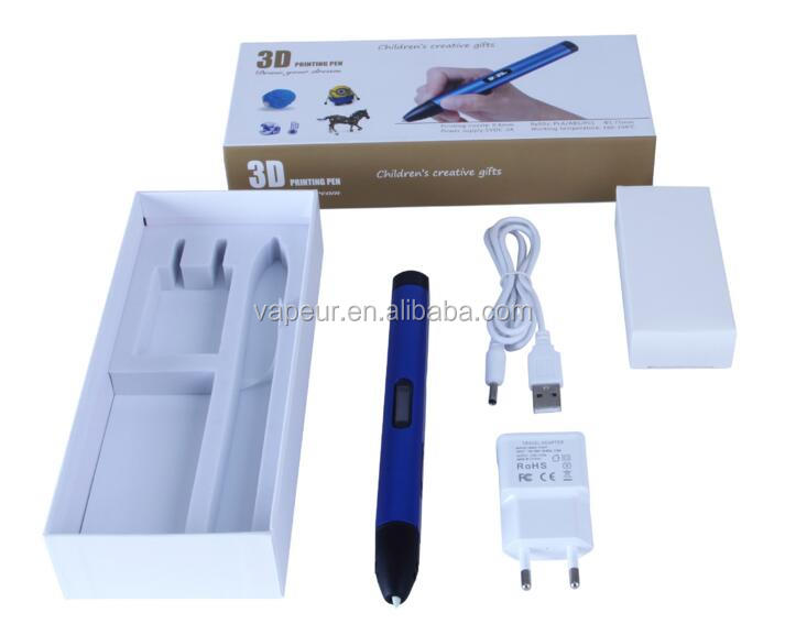 Newest Version 3D Printing Pen With LCD Screen for Doodling Drawing 3D Pen Tool