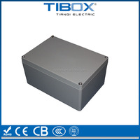 TIBOX Factory Supply Good Quality Aluminium Material IP67 waterproof electrical outlet box 240*160*75mm