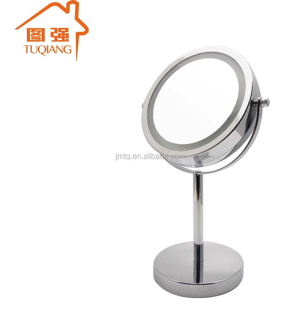 High Quality Bathroom Double Side LED Light Cosmetic Mirror