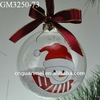 hand painted hollow Christmas ball for Christmas tree decoration