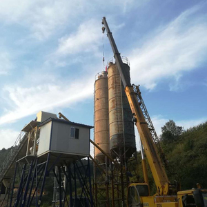 hzs60 60m3/hr concrete batching plant mobile small