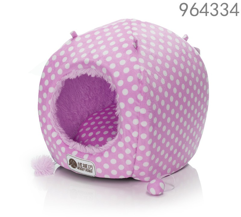hot best selling new products 2016 pet accessories soft pink pig body shape dog bed kennels for cat dog pet sleep