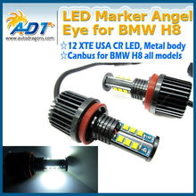 Canbus Error Free High Power 120W LED Marker Angel Eyes For BMW E92 E87