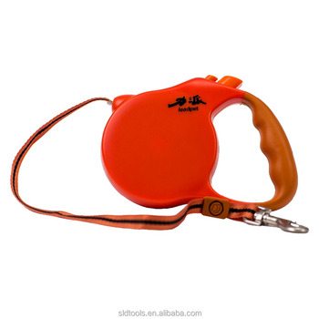 wholesale dog products of chew proof retractable dog leash