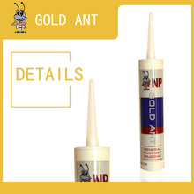 OEM Acid Transparent white acetic Silicone sealant glass glue GP antibacterial silicone white