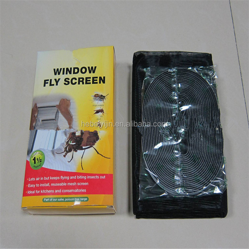 Easy install transparent nylon DIY Window Screen