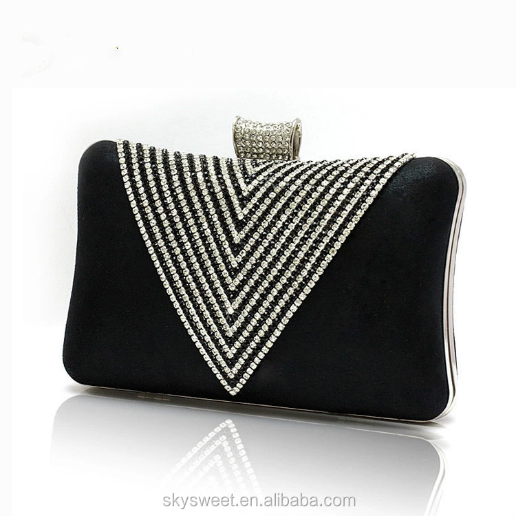 Party dress v diamond fancy purses, branded evening purses(SWTJU1564)