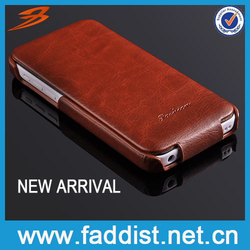 High Quality PU leather for iphone 5c Protect Case New Arrival