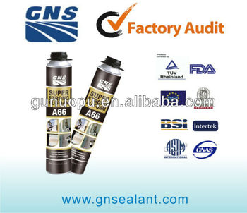 800g low expansion pu foam sealant