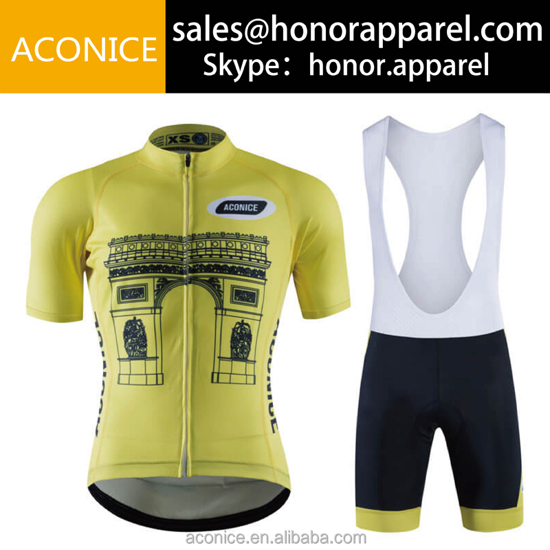 RA009 Design your own fitness cycling jersey, sublimated graphic cycling equipment/ bicycle uniform