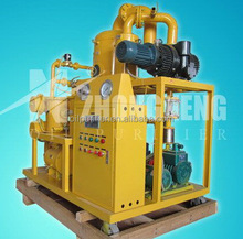 Waste industrial used hydraulic oil regeneration plant with no secondary pollution,machine recycling