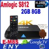 Amlogic S812 M8S 2.0GHz Quad Core Android 4.4 Kitkat smart tv box M8S quad core S812