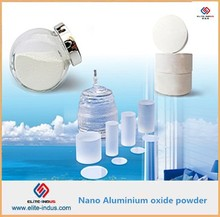 Aluminum oxide nanopowder used for target materials
