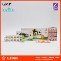 Hot sell high quality VC chewable tablet