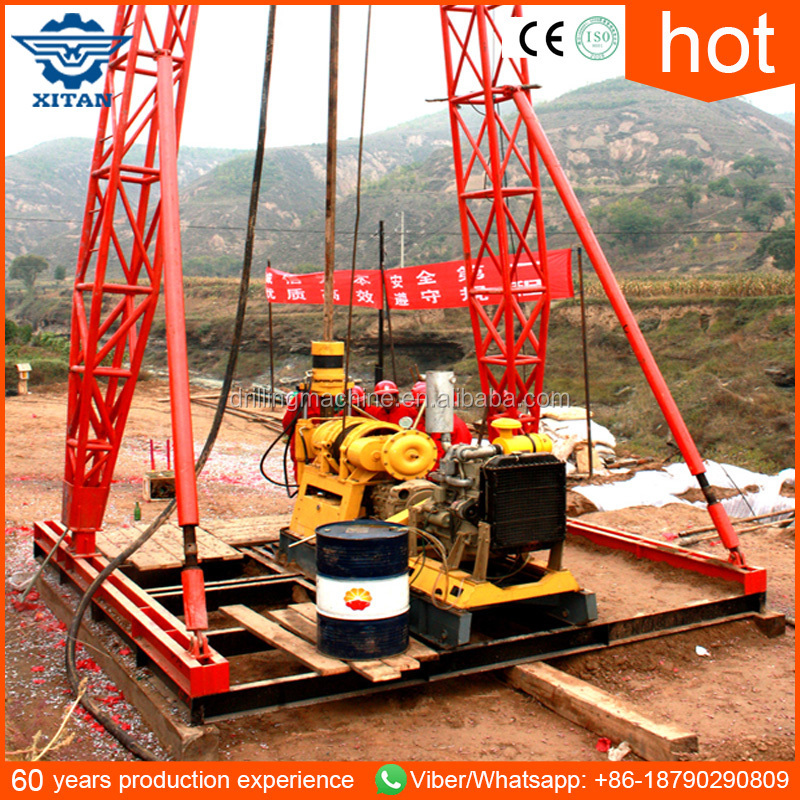 XY-44B core diamond bit soil testing drilling rig