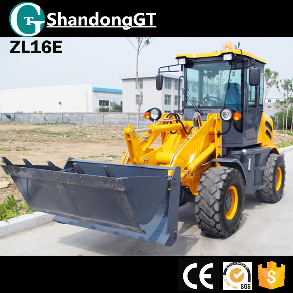ZL 16 Wolf electronic mini digger zl16 tractior farm for wheel loader