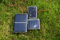 0.1-10W mini epoxy resin encapsulated solar panel for science kits