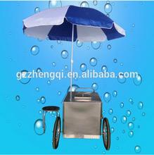 High quality popsicle ice cream push cart for sale
