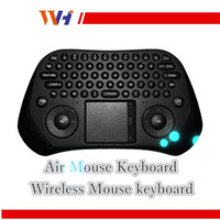 2.4GHZ Wireless Keyboard Mini Multi-media Remote Control Use for Smart TV Air Mouse Keyboard
