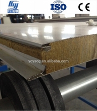 Hidden screw type rockwool Sandwich panel