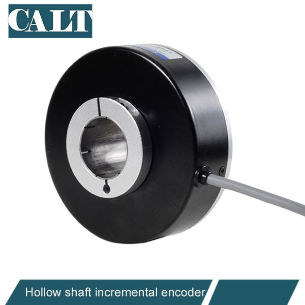 CALT vertical rotary encoder for elevator motor 18mm hollow shaft incremental rotary encoder can be customized encoder