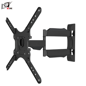 Simple Solid Adjustable Cold-Rolled Small Size TV And DVD Wall Mount