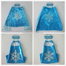 YS Baby Girls Dress Elsa Anna Party Costumes Kids Princess Capes and masks