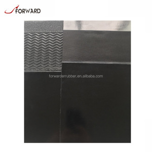 Black shiny profile neolite rubber soling sheet for shoe sole
